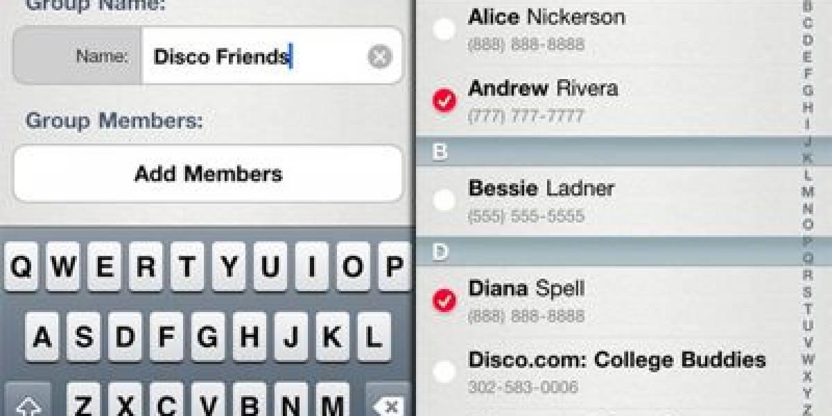 Disco Messenger, un nuevo gestor de SMS para el iPhone