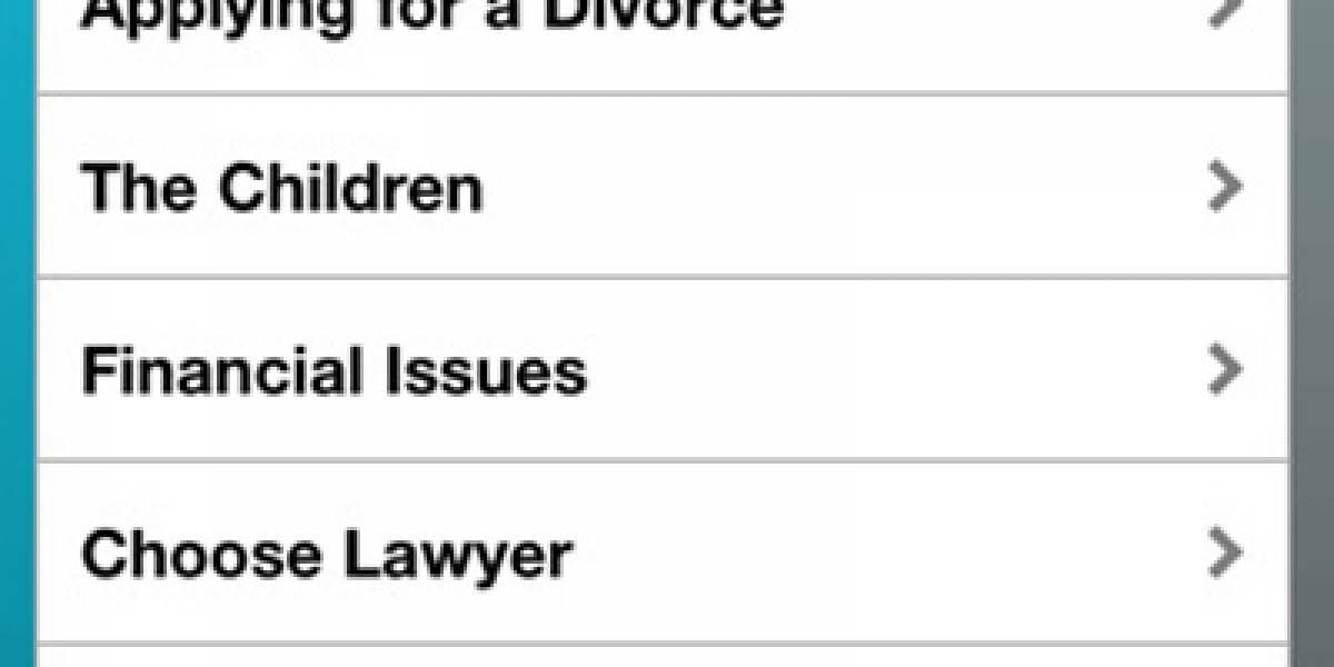 Aplicación te ayuda a divorciarte en Reino Unido