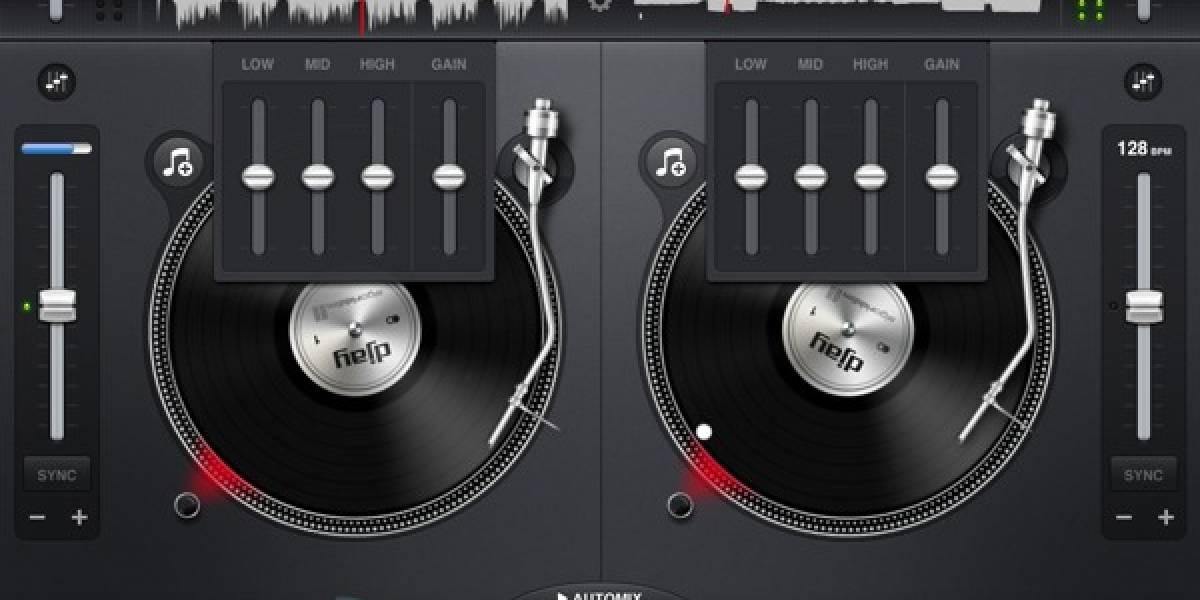 Actualización del Djay optimiza su uso en el iPad 2