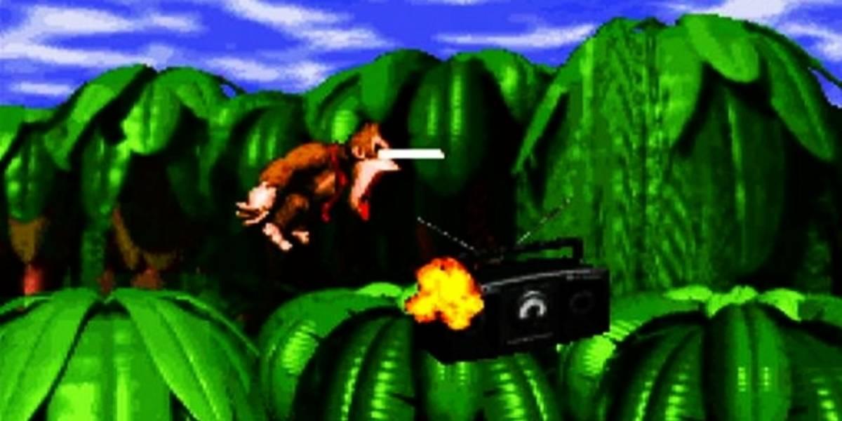 Este mod de Donkey Kong Country corre sobre el motor de Doom