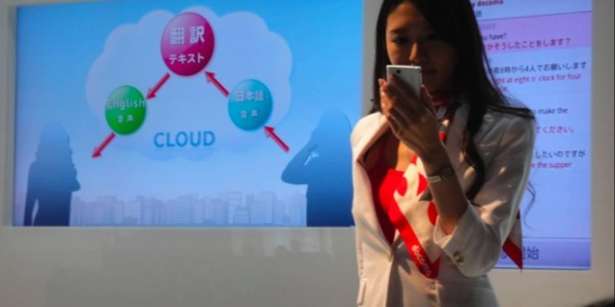 NTT DoCoMo presenta traductor simultáneo basado en la Nube