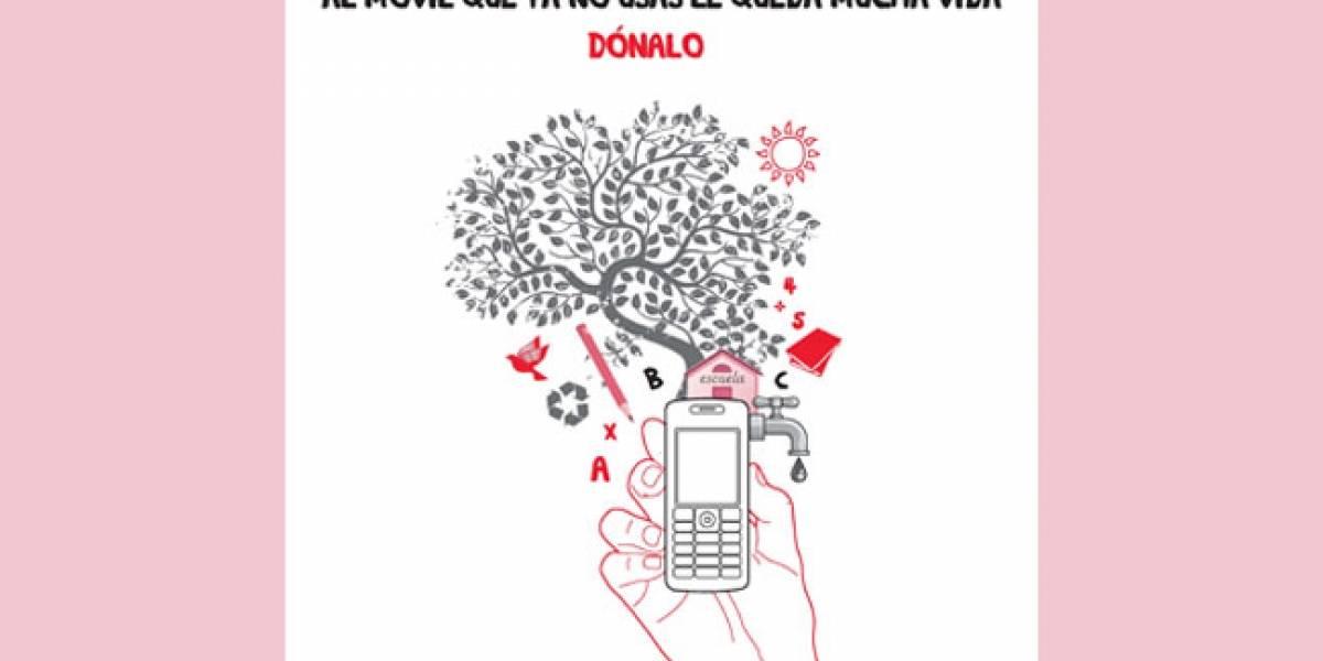 España: Tu móvil viejo puede ayudar a la educación de los menos favorecidos