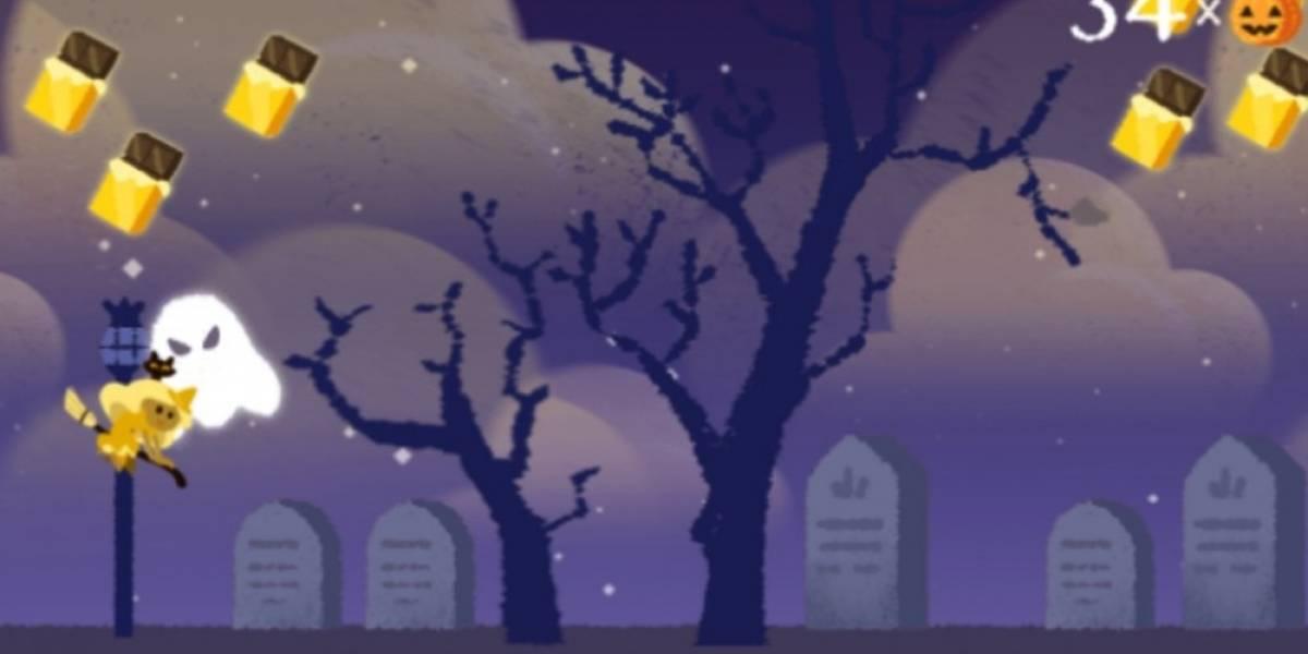 El doodle de Google hoy es juego de Halloween