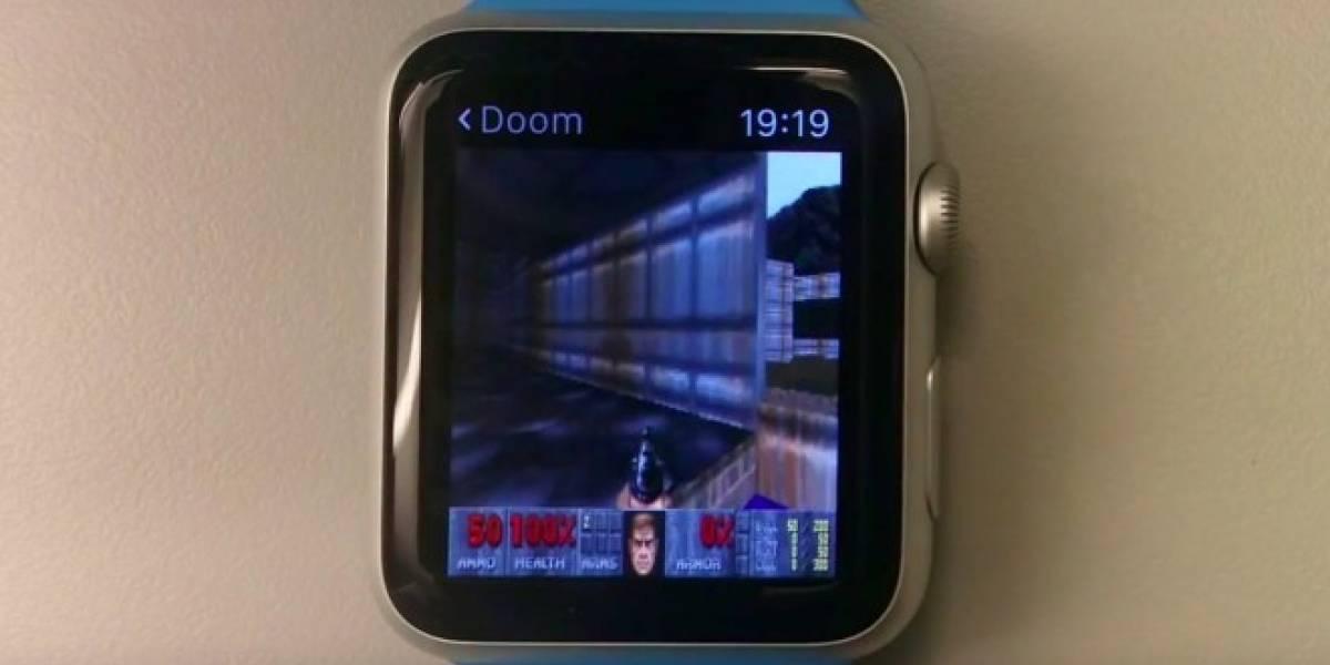 Ahora puedes jugar Doom en el Apple Watch