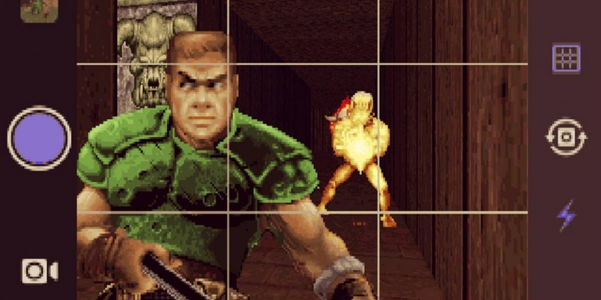 Instagram y las selfies llegan al Doom original