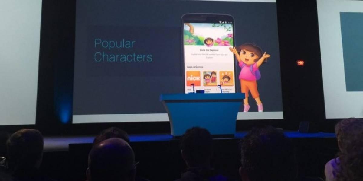 Google Play será más amigable para el público familiar #io15