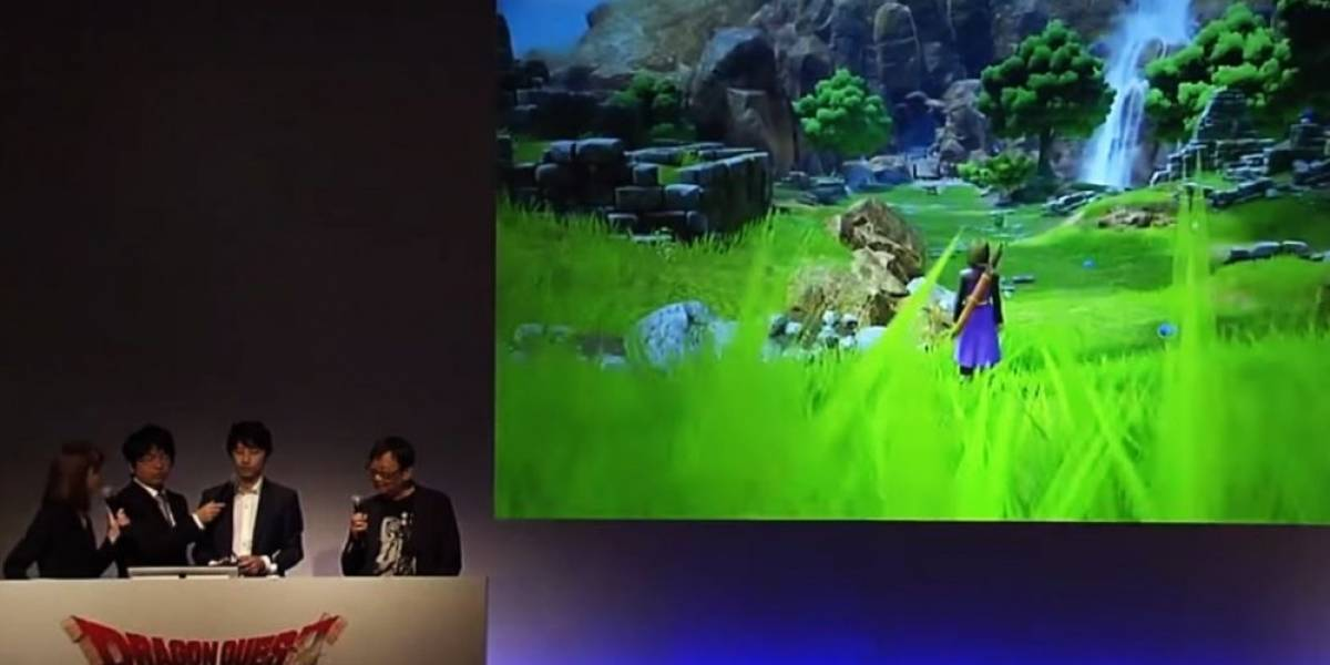 Dragon Quest XI anunciado para PS4 y 3DS, podría llegar a Project NX