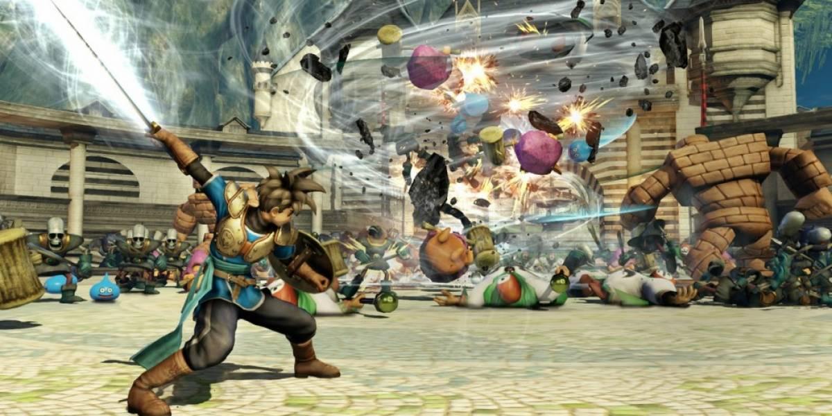 Se revela el primer video con jugabilidad de Dragon Quest Heroes #TGS2014