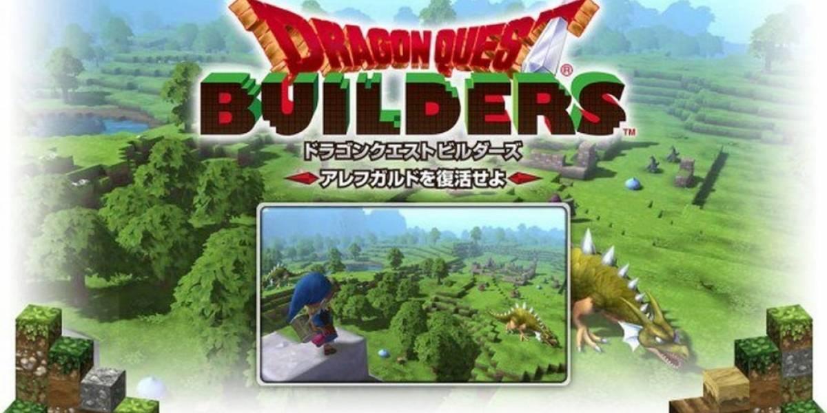 Square Enix anuncia Dragon Quest Builders para PS4, PS3 y PS Vita