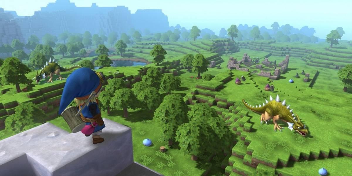 Primer vistazo a la jugabilidad de Dragon Quest Builders