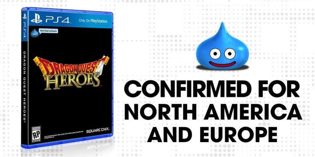 Confirmado: Dragon Quest Heroes llegará a occidente, solo a PS4