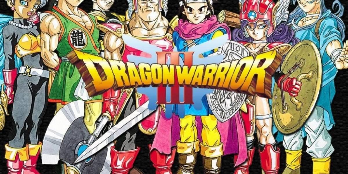Dragon Quest 3 llega a iOS y Android