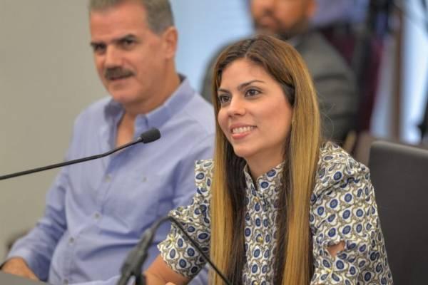 Adriana Sánchez, secretaria del Departamento de Recreación y Deportes
