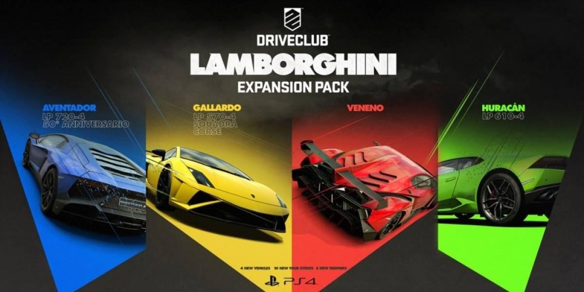 DriveClub recibirá la expansión Lamborghini durante este mes