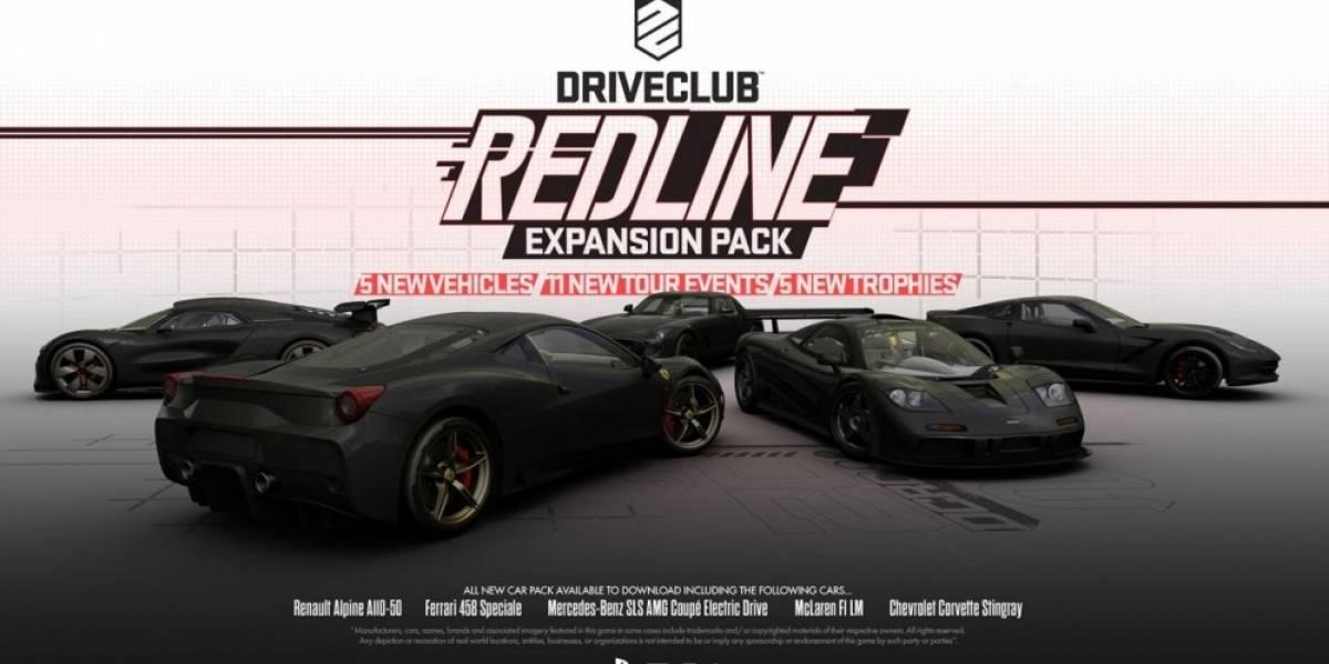 Detalles de la expansión Redline para DriveClub