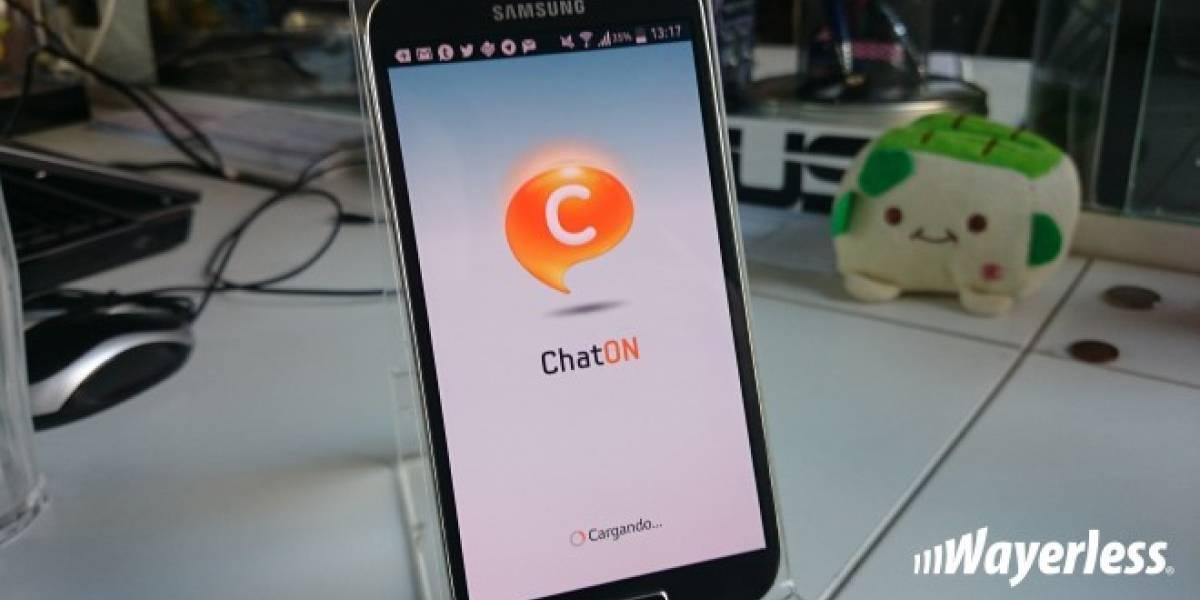 Samsung cierra ChatOn, competidor fallido de WhatsApp