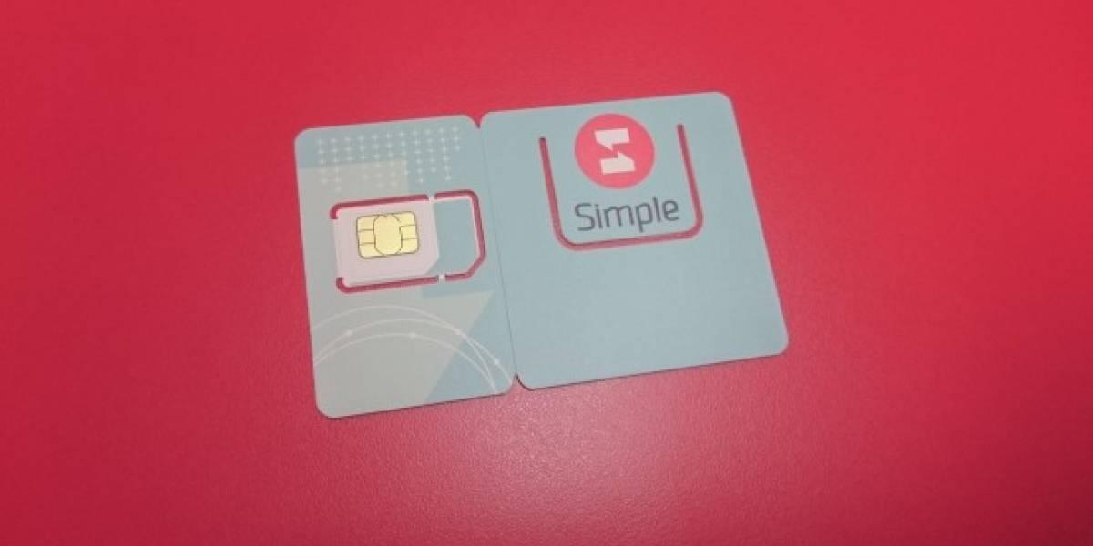 Así funciona Simple, el nuevo operador móvil virtual que llegó a Chile