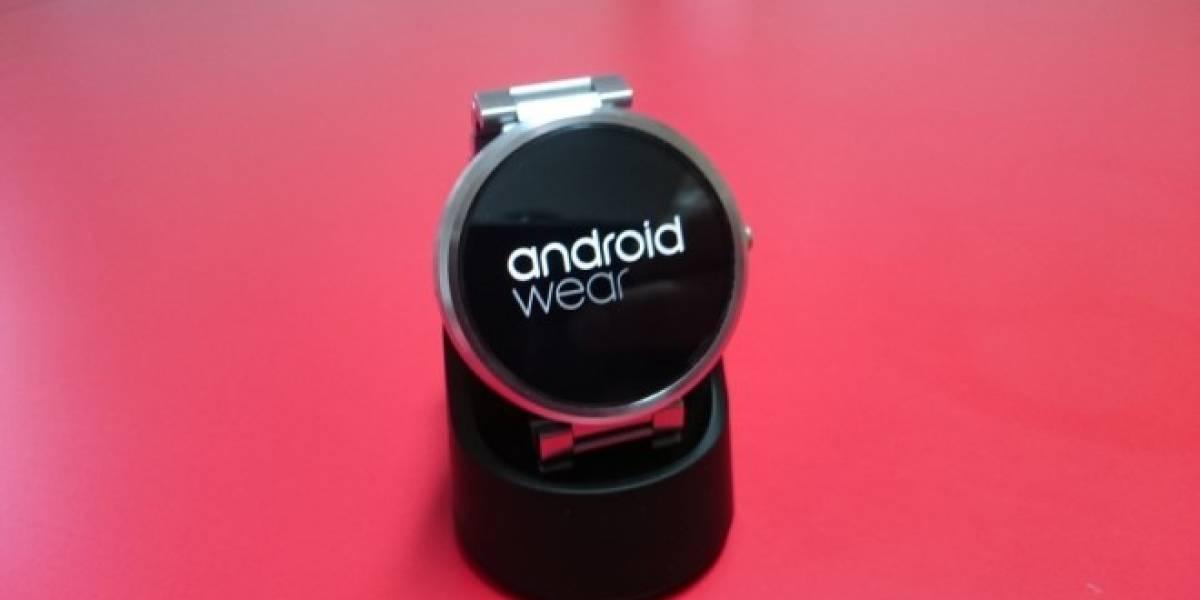Motorola Moto 360 comienza a actualizarse a Android Wear 1.3