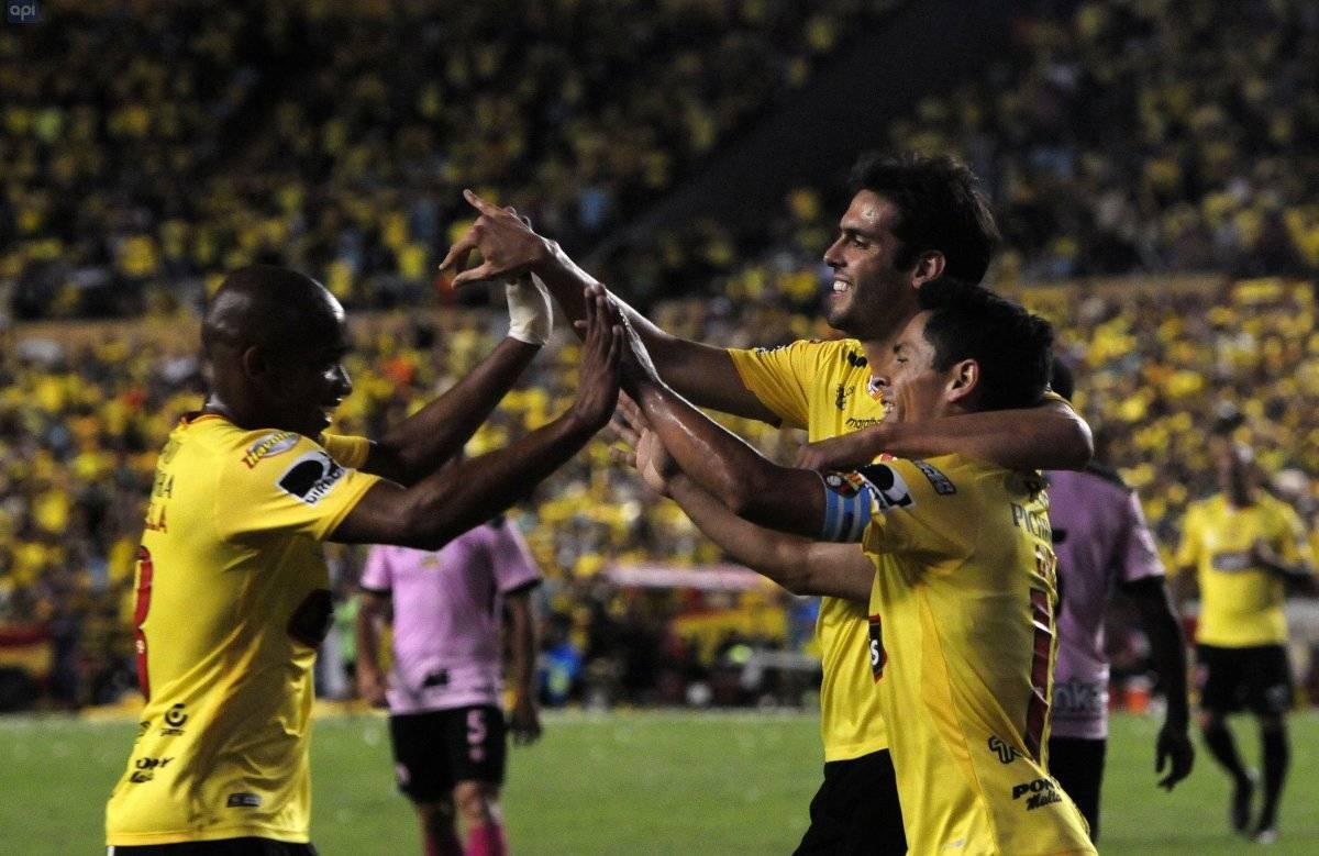 Barcelona SC tuvo su presentación en la Noche Amarilla API
