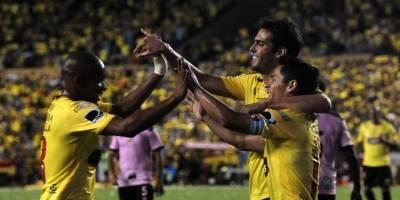 Barcelona SC tuvo su presentación en la Noche Amarilla