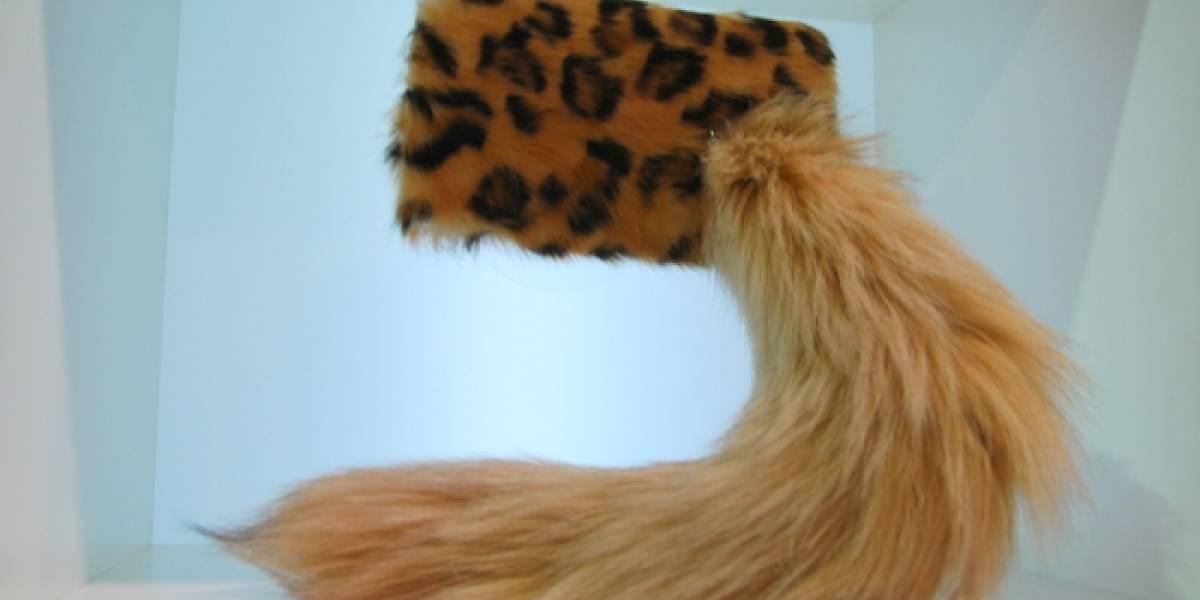 CES 2012: Da un irresistible atractivo animal a tu Galaxy Nexus con esta funda con forma de cola