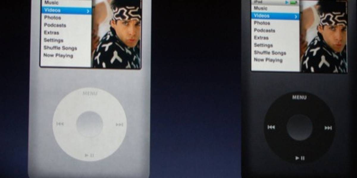 Evento Apple: iPod Nano y iPod Classic