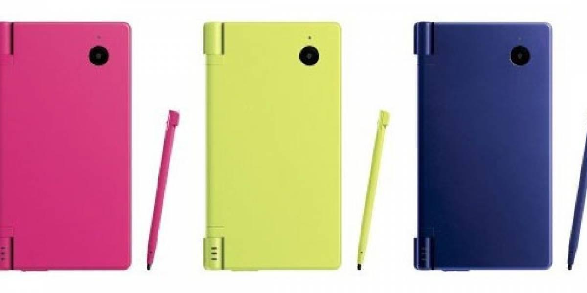 Tres nuevos colores para la DSi