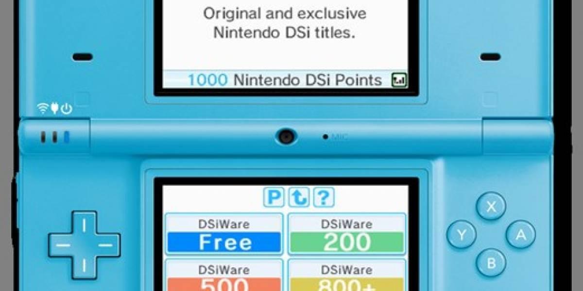 GDC09: Primeras imágenes de la DSi Shop