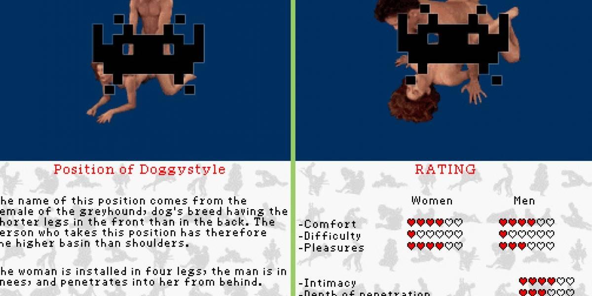 Las posiciones del Kama Sutra en tu DS