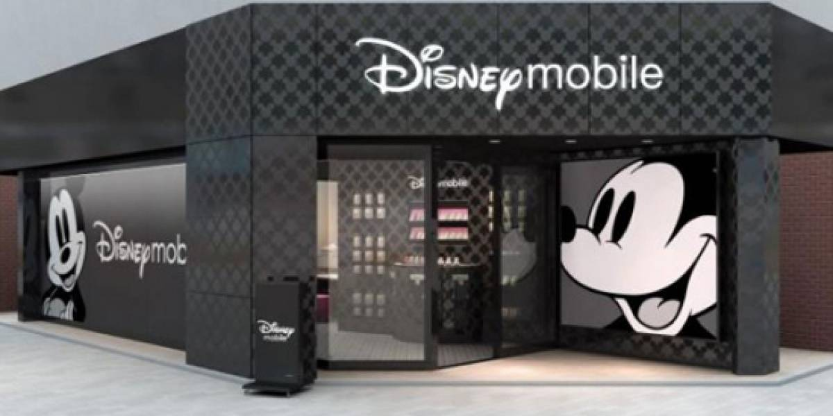 Disney abre tienda de móviles en Tokio