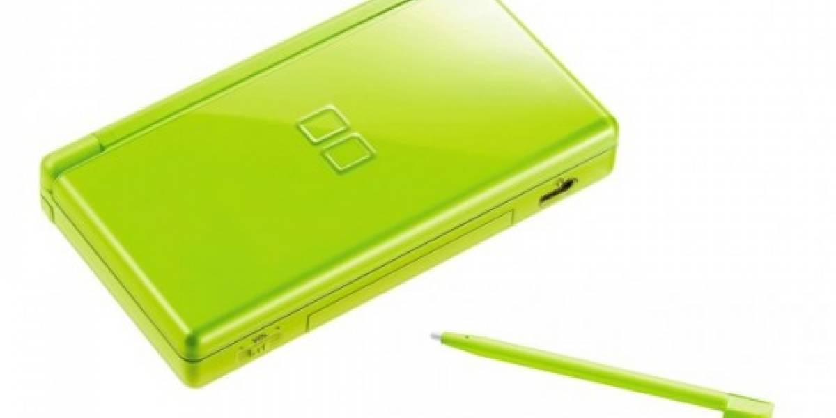 Nuevo color del DS Lite: Verde que te quiero verde