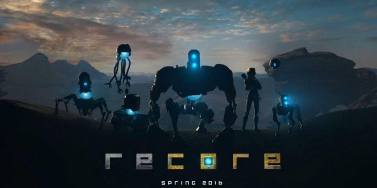 Microsoft presenta ReCore, un título de Keiji Inafune exclusivo para Xbox One #E32015