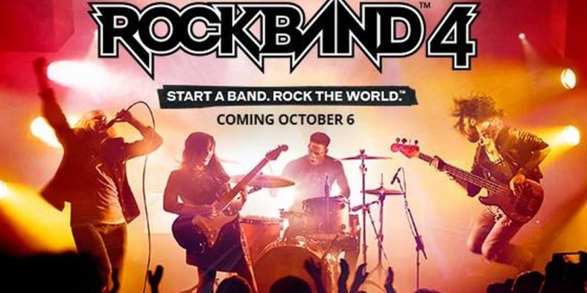 Rock Band 4 ya tiene fecha de lanzamiento #E32015