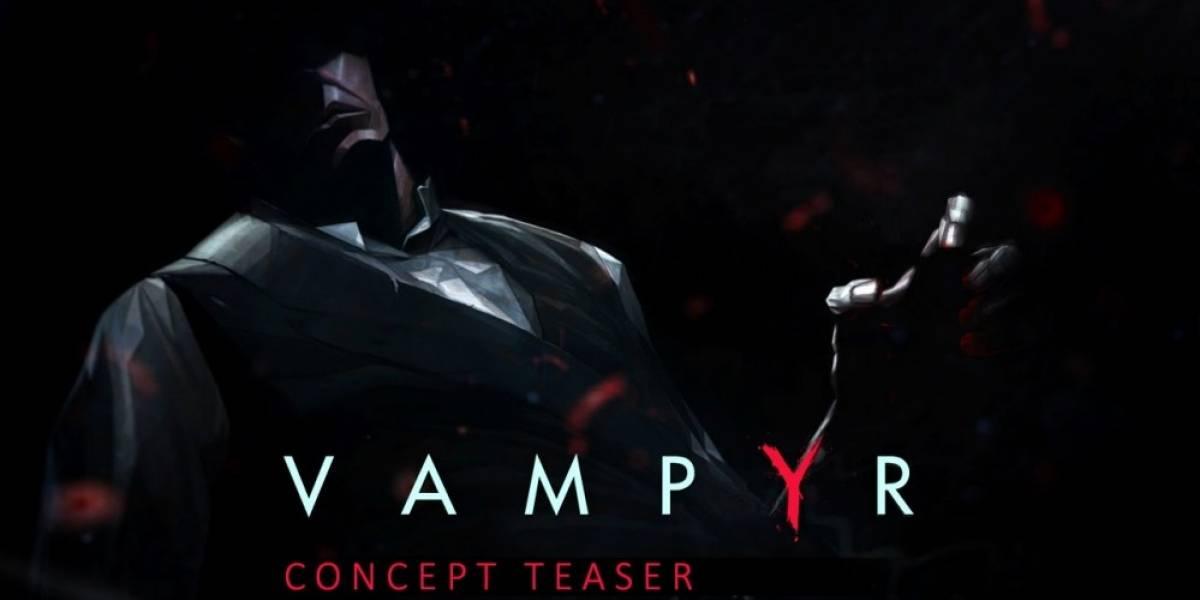 Dontnod presenta teaser conceptual de Vampyr #E32015