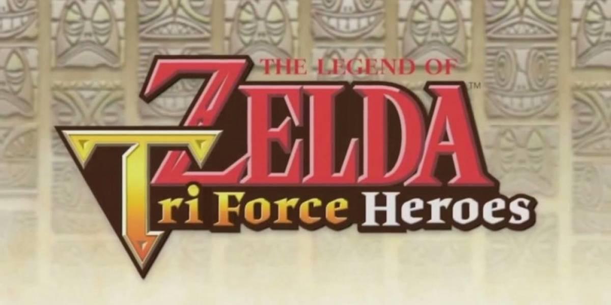 Nintendo presenta The Legend of Zelda TriForce Heroes para 3DS #E32015