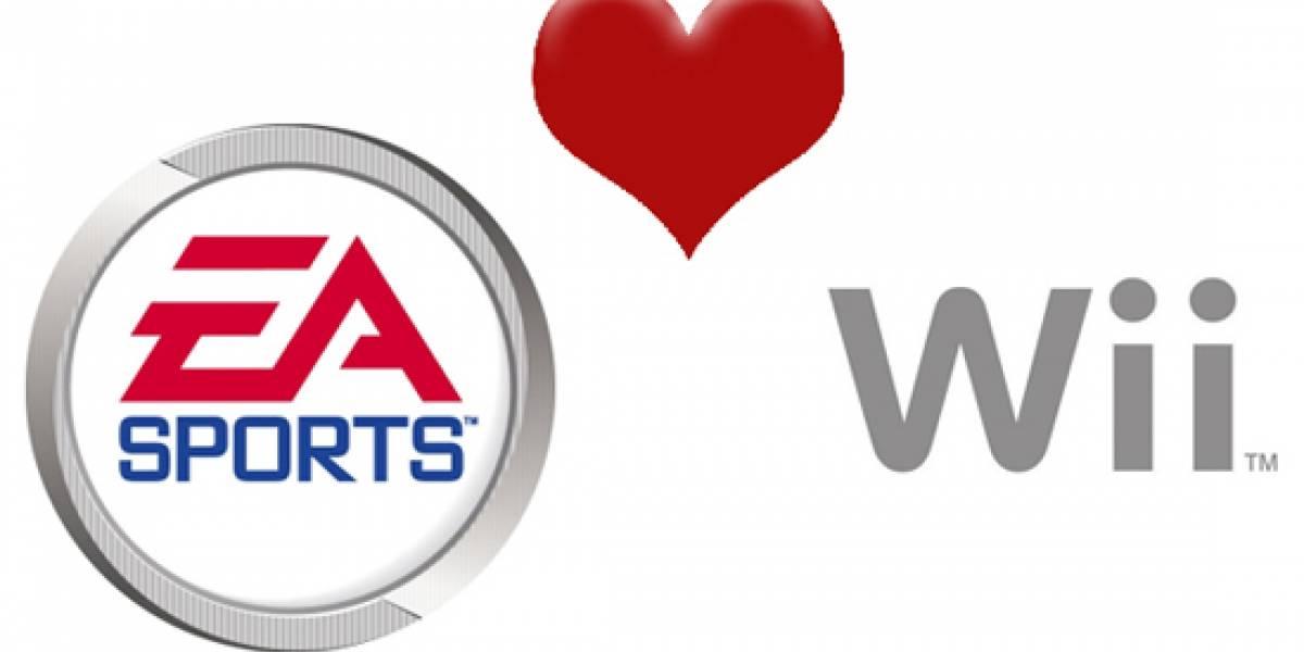 Lanzamientos de EA Sports para la Wii
