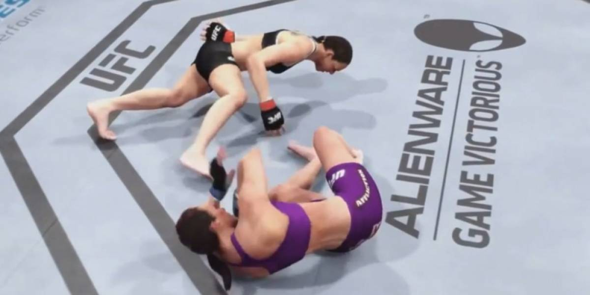 Más glitches divertidos en EA Sports UFC