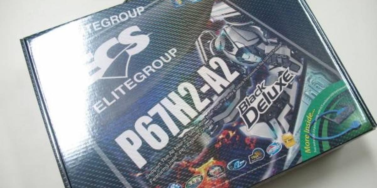 ECS P67H2-A2 Black Deluxe en CHW