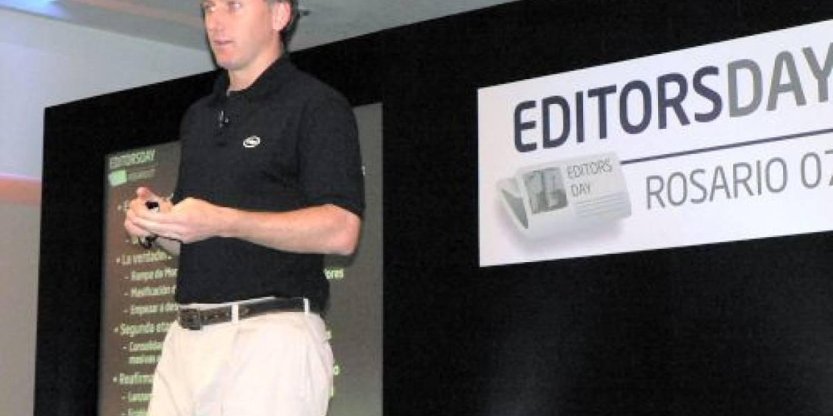 Editors Day 2007: Keynote de Esteban Galuzzi, Gerente de Intel Conosur