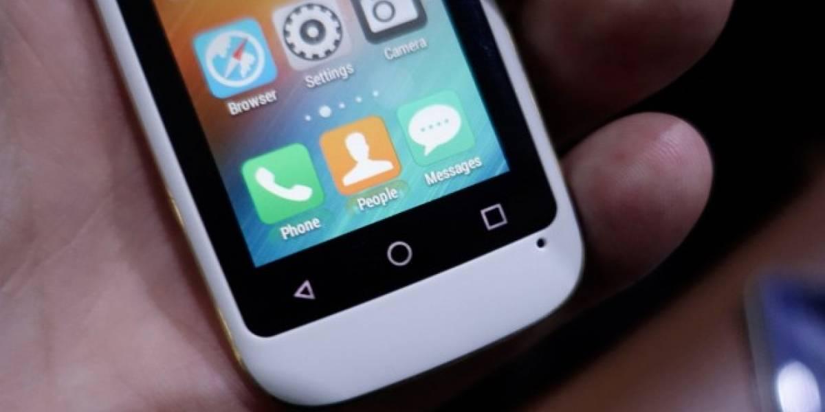 Elephone lanza un smartphone Android de apenas dos pulgadas