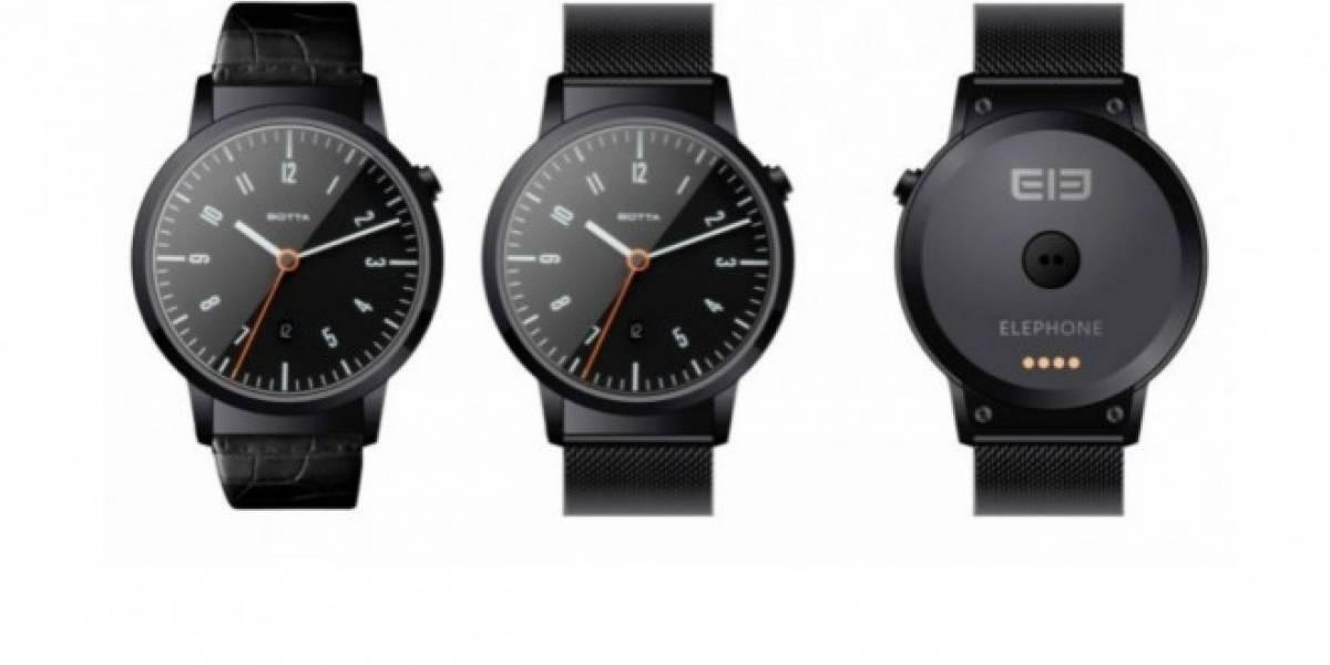 ELE, el nuevo reloj inteligente con Android Wear de Elephone