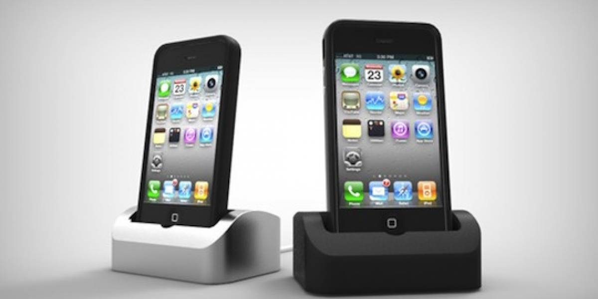 Elevation dock, una base para recargar el iPhone aún con carcasa
