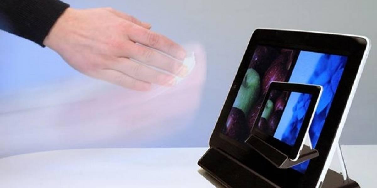 Pronto se podrá controlar el iPad sin tocarlo