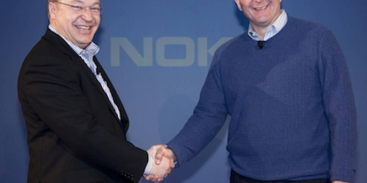 Los primeros Nokia con Windows Phone programados para 2012
