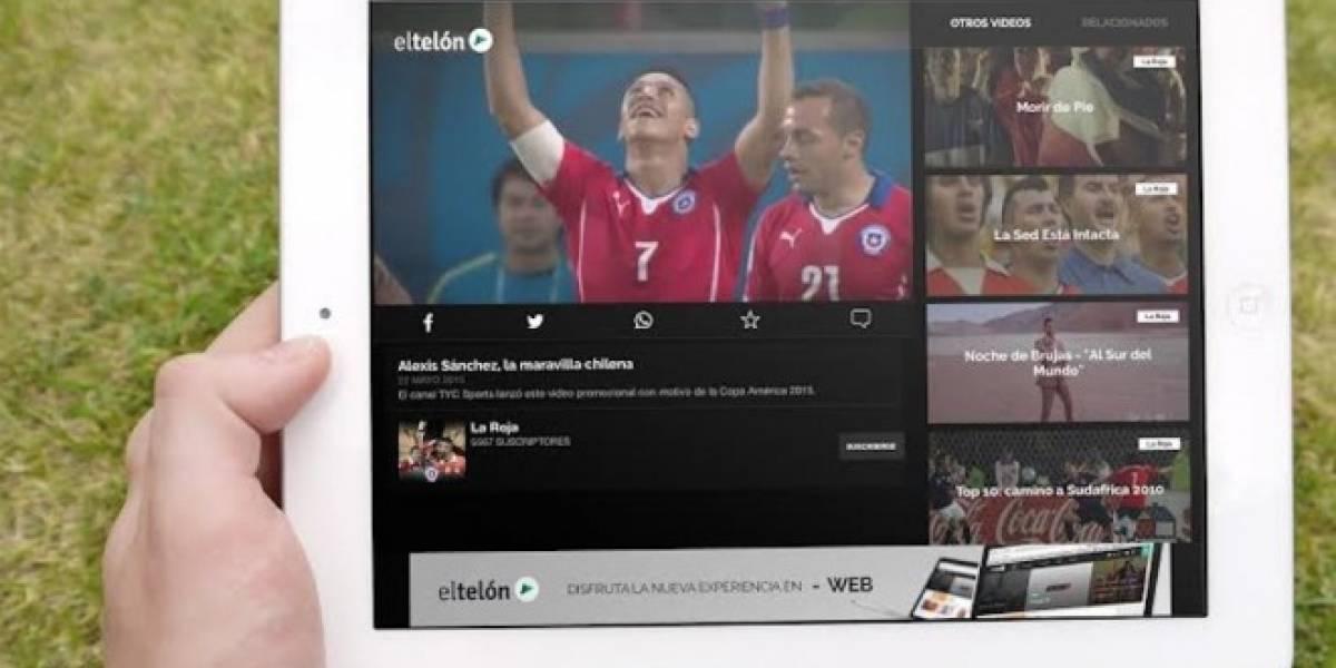 Aplicación chilena El Telón lanza nueva versión con más contenidos multimedia