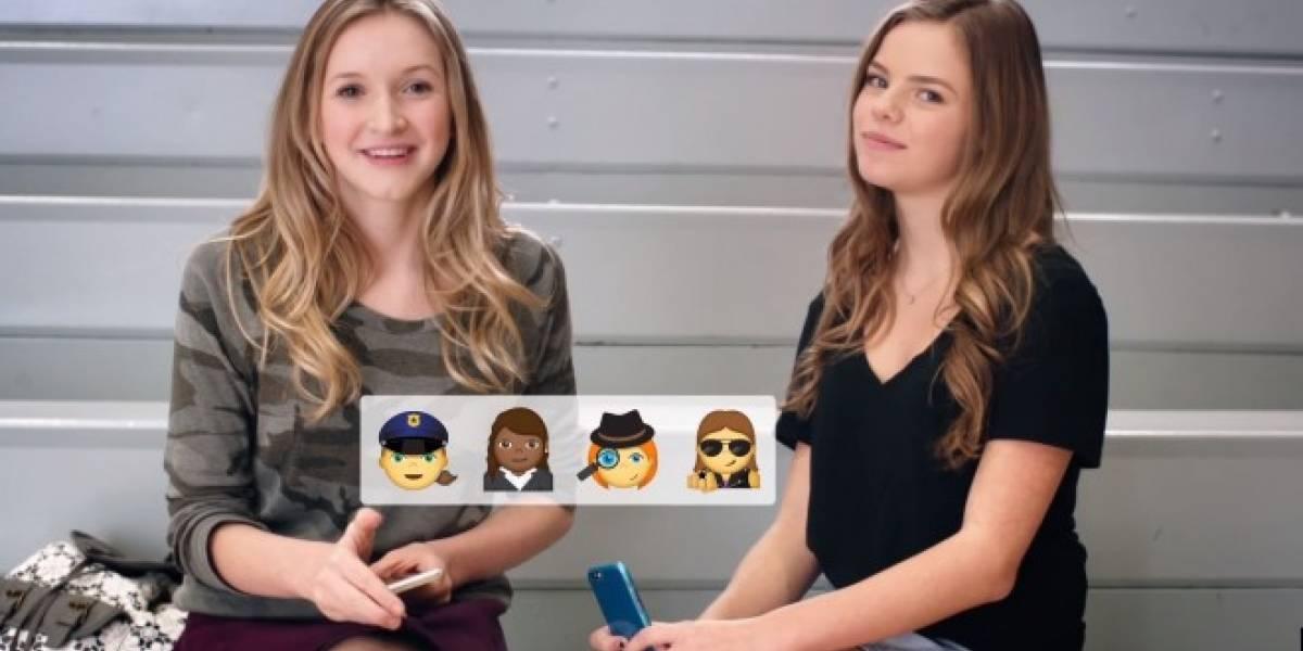 Campaña exige emojis que representen a las mujeres