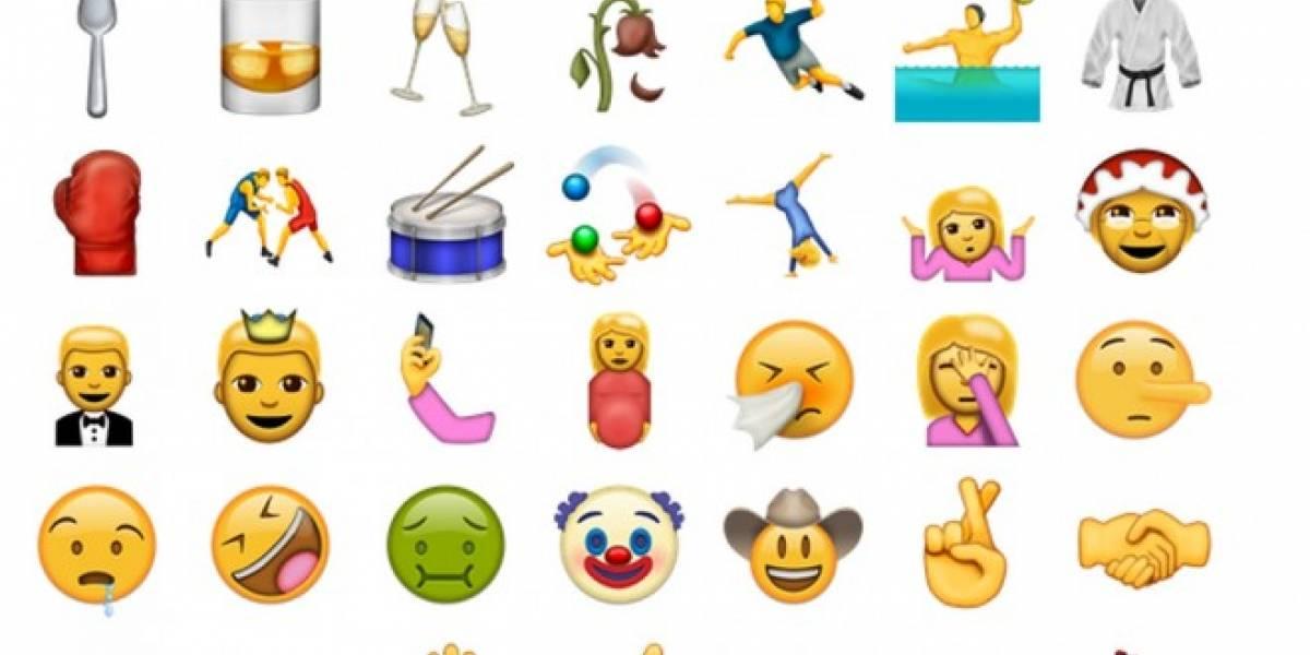 Estos son los 74 nuevos emojis para 2016