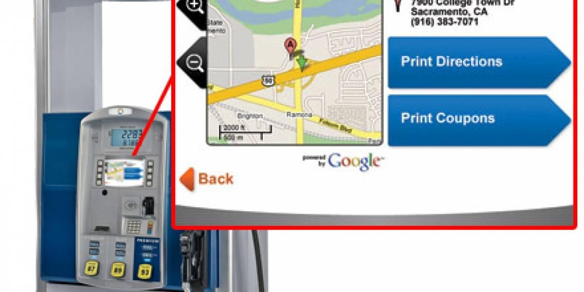 ¿Y para donde vamos? Google Maps en estaciones de servicio