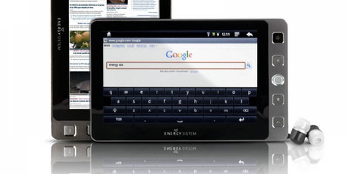 España: Energy Tablet i504, el primero de fabricación nacional