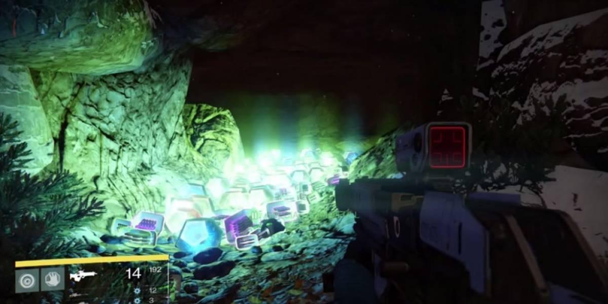 Bungie dejó un mensaje en la primera cueva de loot de Destiny